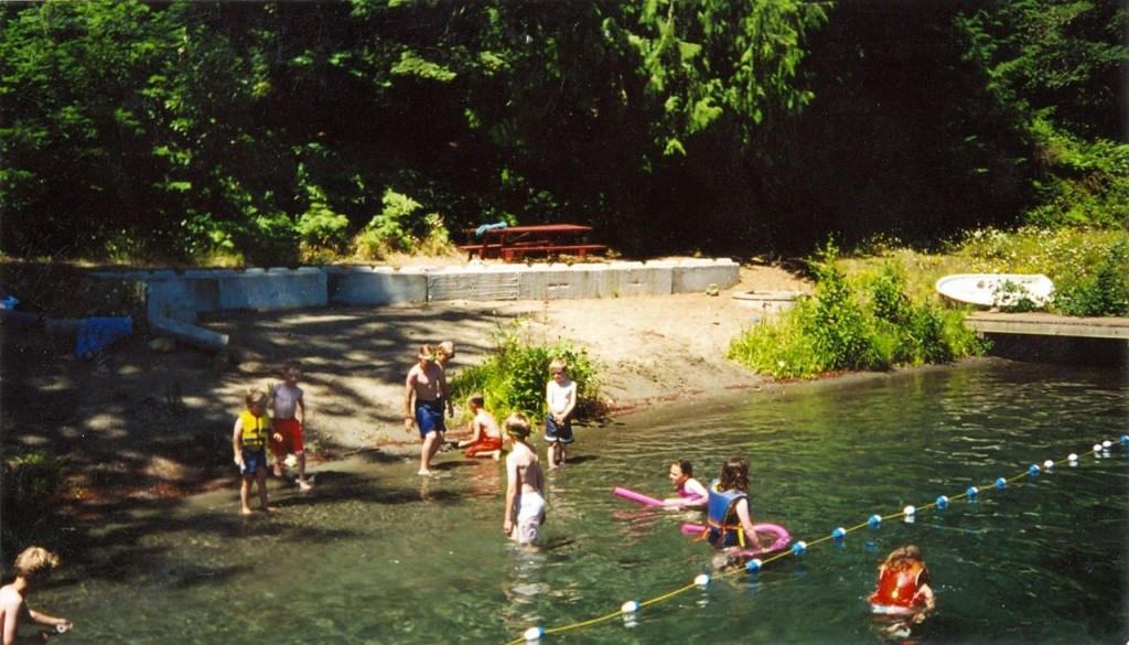 Swimming at Camp Bo
